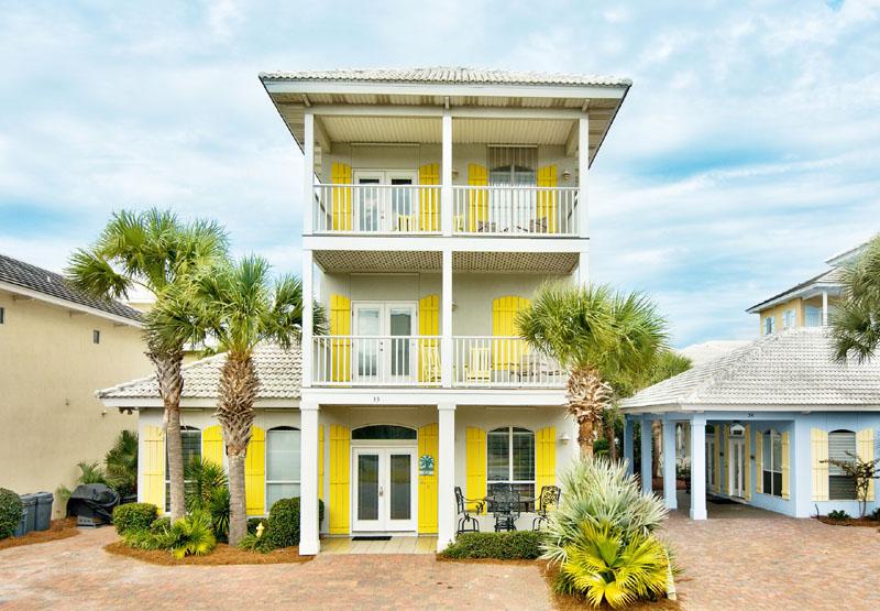 destin florida vacation rental south seas located in emerald shores